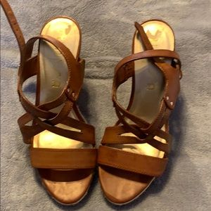 Two pair of Sandals Gently Used Shoes Size 8